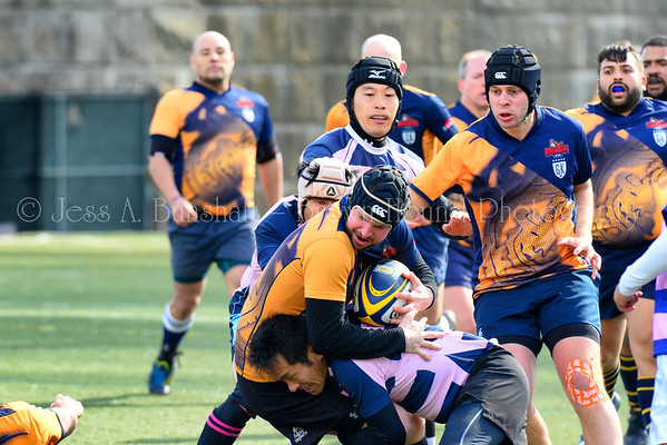 Gotham Knights vs. All Japan Rugby, April 2, 2016