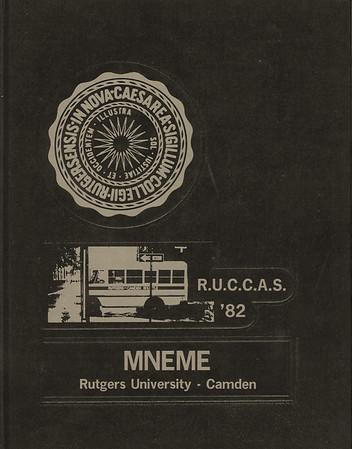 Rutgers Camden Mneme 1982 Yearbook
