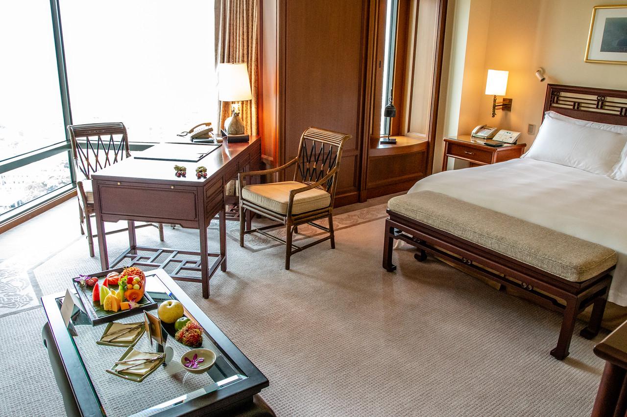 Our Room at the Peninsula Hotel Bangkok