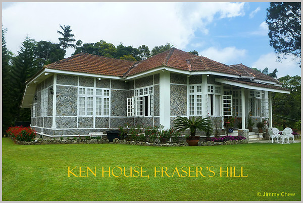 Ken House (formerly Villa Adrien Hallet) @ Fraser's Hill