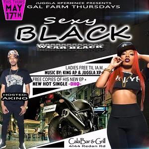 GAL FARM PRESENTS SEXY BLACK WEAR BLACK AFFAIR