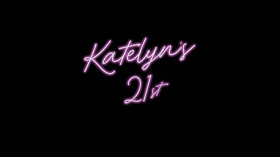 09.04 Katelyn's 21st