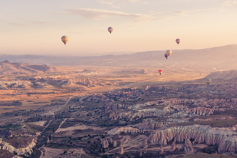 Hot Air Balloon - Cappadocia Turkey