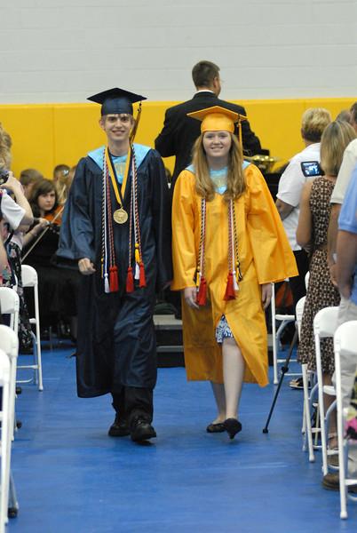 Grant County HS Graduation 2007-08