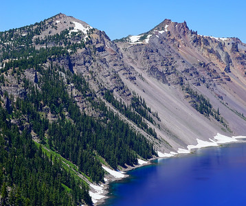 Crater Lake, Oregon - June 2016