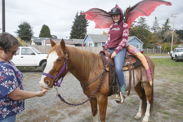 Photos: Haunted Horses in Blue Lake