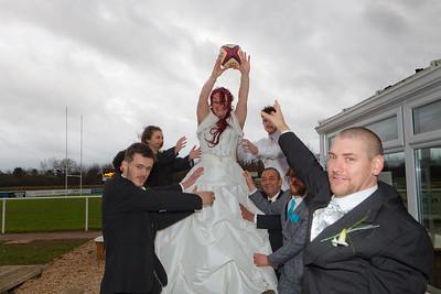 Kat & Dave Batchelor Wedding