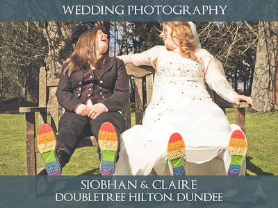 Siobhan & Claire - Doubletree by Hilton Dundee - Wedding Photography