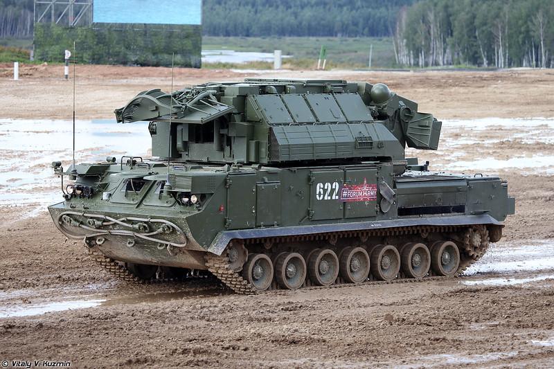 Боевая машина 9А331М ЗРК 9К331М Тор-М2 (9A331M combat vehicle 9K331M Tor-M2)