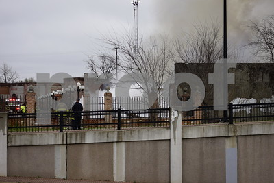 2/24/15 Warehouse Fire In Downtown Tyler by Rolan Ranido