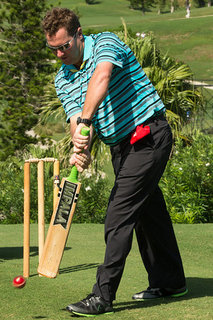 PGA Grand Slam 2013 - cricket on Pro Am day