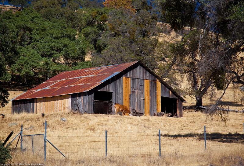 Barn near Sobon Winery