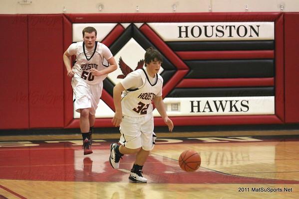 Houston Vs. North Pole Boys JV 2-17-2011
