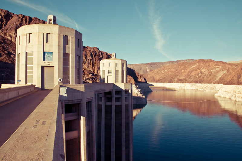 Hoover Dam and Lake Meade