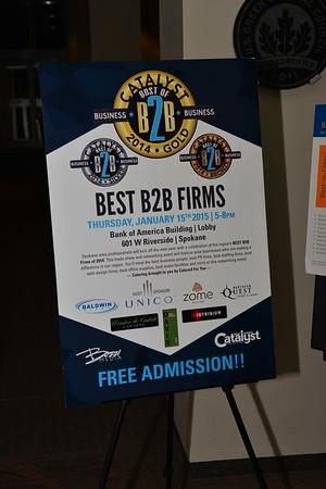 Best B2B Firms 2014 / Inland Business Catalyst Magazine