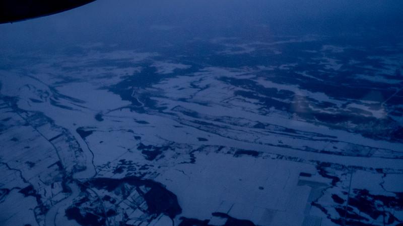 Parc national de Plaisance dans la neige