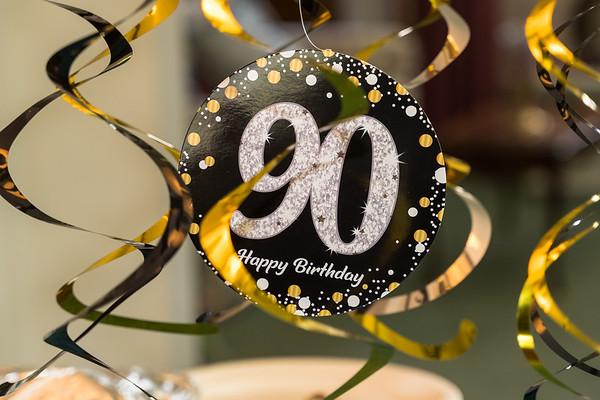 Aunti Vi's 90th Birthday