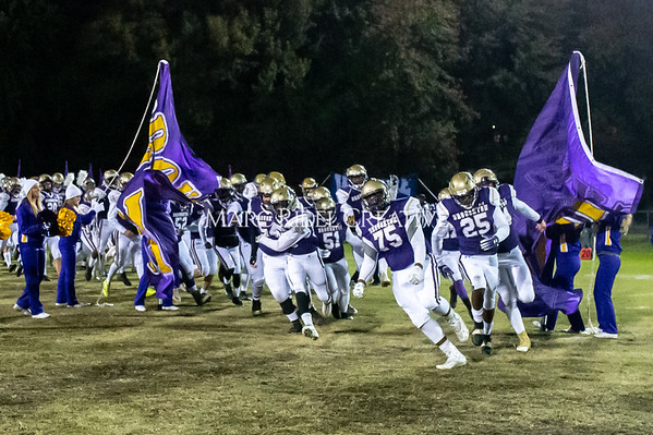 Broughton football vs Millbrook. Senior night. November 8, 2019. D4S_7363