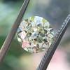 2.13ct Old European Cut Diamond , GIA Q/R VS2 9