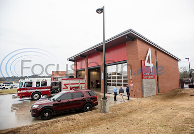 Relocated Fire Station No. 4 Grand Opening By Sarah Miller