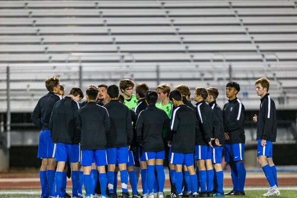 2020 Unicorns Varsity Boys Soccer VS Canyon