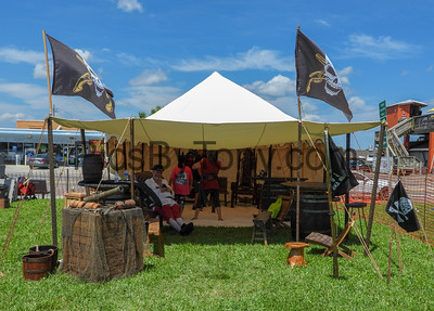 Pirate Invasion in Flagler Beach on  Sep 15,  2018