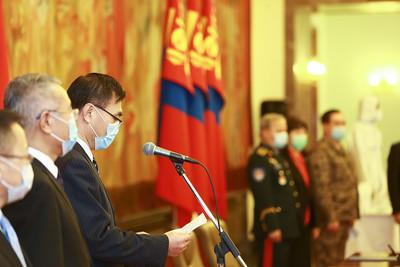 БНХАУ-ын Засгийн газраас Монгол Улсад коронавируст халдвартай тэмцэхэд  зориулж ирүүлсэн тусламж хүлээлцэх арга хэмжээ болж байна
