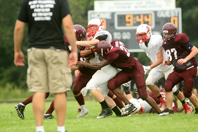 Luther scrimmage FB14