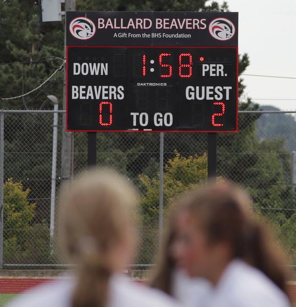 Woodinville High School Varsity verse Ballard High September 24, 2011   ©Neir
