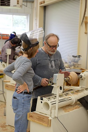 Woodturning with Lacer [Mar 16]