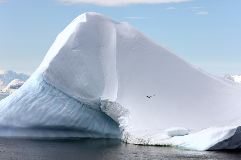 CLIMATE CHANGE: EFFECT - MELTING ANTARCTICA