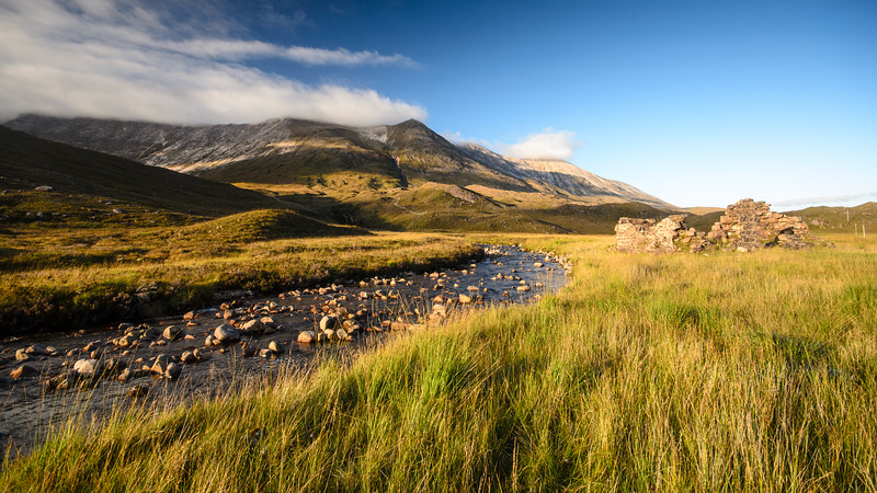 Mountain river in Glen Torridon