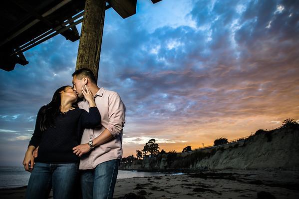 Kim and John - Engagement Photography, Capitola, California