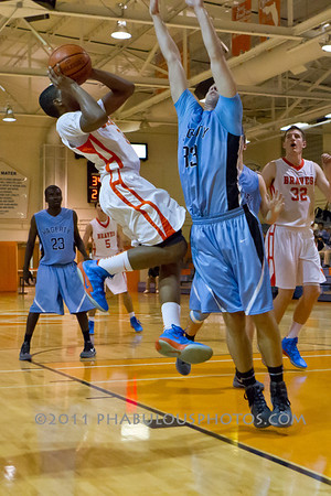 Hagerty @ Boone Boys Varsity Baskeball - 2012