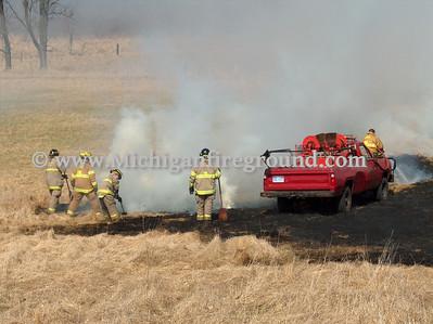 4/7/08 - Leslie grass fire, 5333 Nims Rd