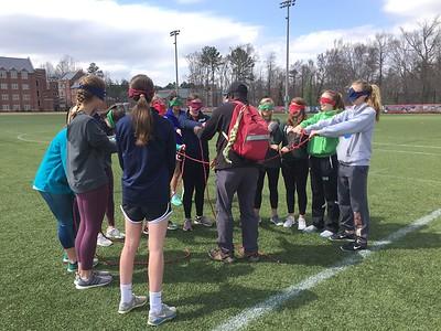 JV and V Girls Soccer at UR Challenge Discovery