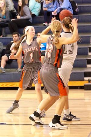 Prairie vs. Xavier Girl's Basketball 1/6/17