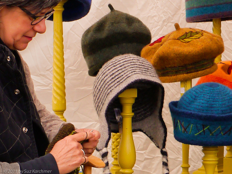 Making and Selling Hats at the craft Fair, Harwich.jpg
