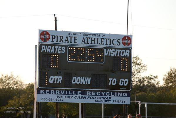 Johnson City @ Center Point Football 2012