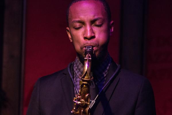 Marcus Elliot at the Dirty Dog Jazz Cafe - 12-2-2015
