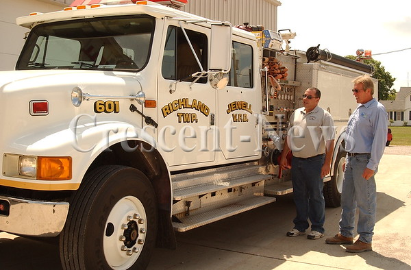 07-21-14 NEWS jewell Fire Truck Painted