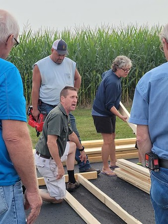 House 65 Wall Build in Pennsylvania