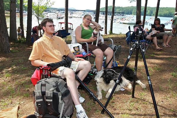 2012.6.13 Family at Lake Allatoona Junefest