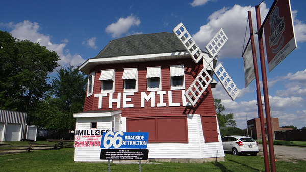 The Mill Museum on 66 in Lincoln