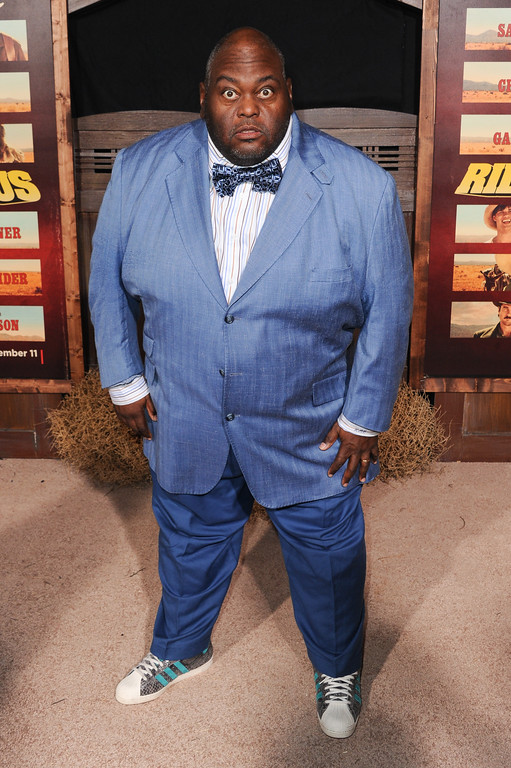 """. Lavell Crawford attends the LA Premiere of \""""The Ridiculous 6\"""" held at AMC Universal Citywalk on Monday, Nov. 30, 2015, in Universal City, Calif. Crawford will be at the Cleveland Improve from June 2-4. For more information, visit clevelandimprov.com. (Photo by Richard Shotwell/Invision/AP)"""
