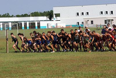 Bayside Meet Boys Race