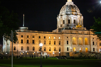 Minnesota State Capitol, National Guard May 30