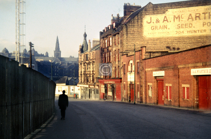 Hunter St.   1960s, taken by my late brother.