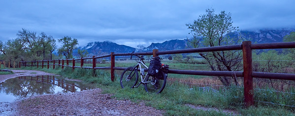 Rainy South Boulder Ride, May 19, 2018