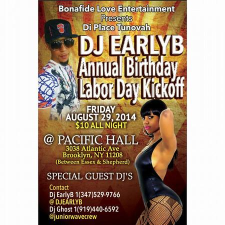 Dj Earlyb Annual Birthday Bash